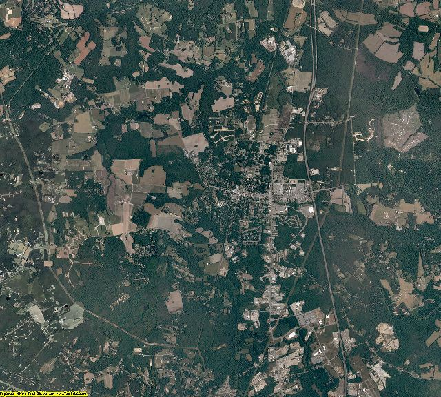 Hanover County, Virginia aerial photography