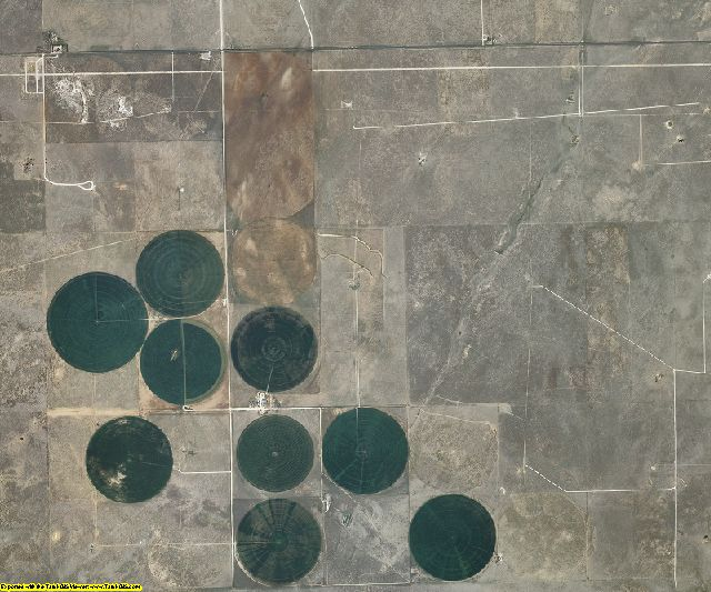 Harding County, New Mexico aerial photography