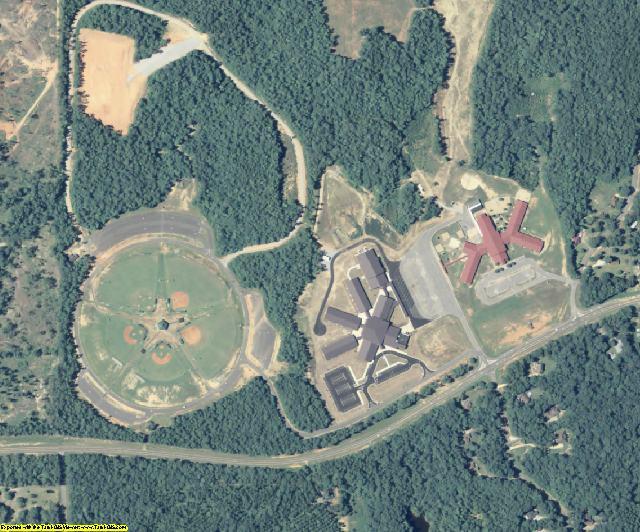 Harris County, GA aerial photography detail