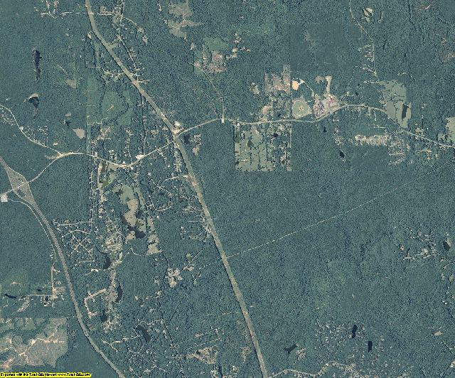 Harris County, Georgia aerial photography