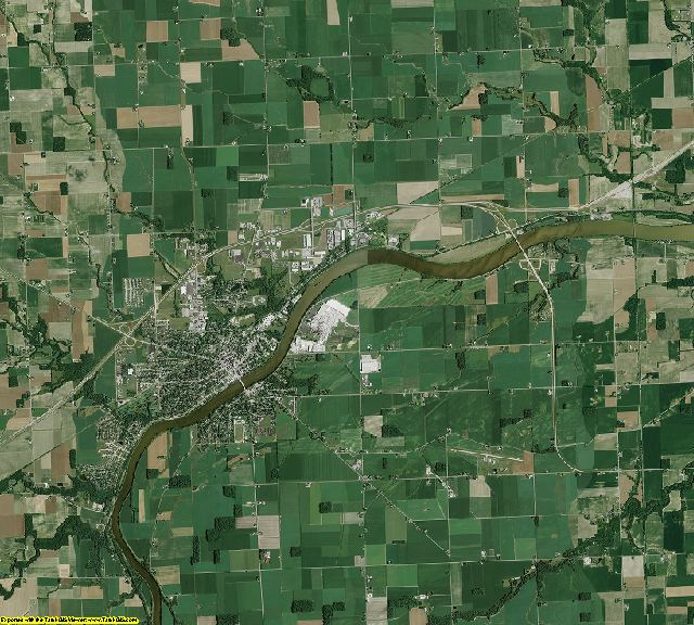 Henry County, Ohio aerial photography