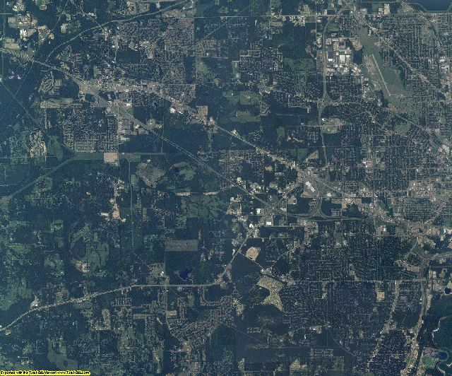 Hinds County, Mississippi aerial photography