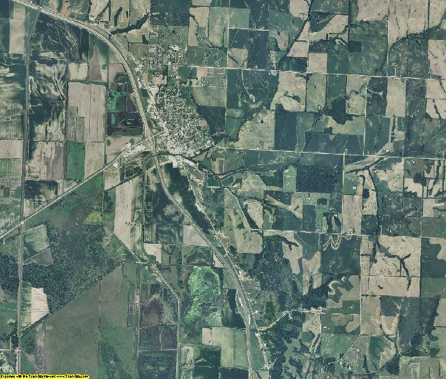 Holt County, Missouri aerial photography