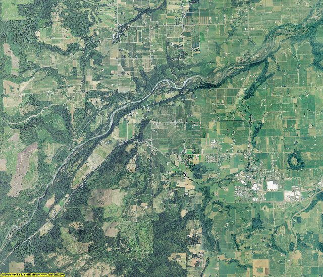 Hood River County, Oregon aerial photography