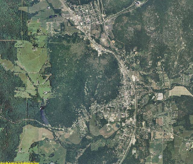 Iron County, Missouri aerial photography