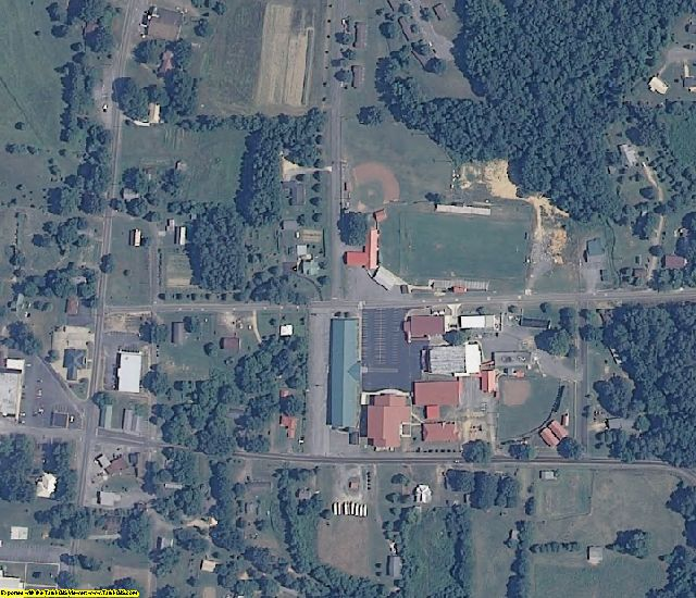 Jackson County, AL aerial photography detail