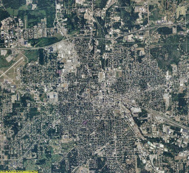 Jackson County, Michigan aerial photography