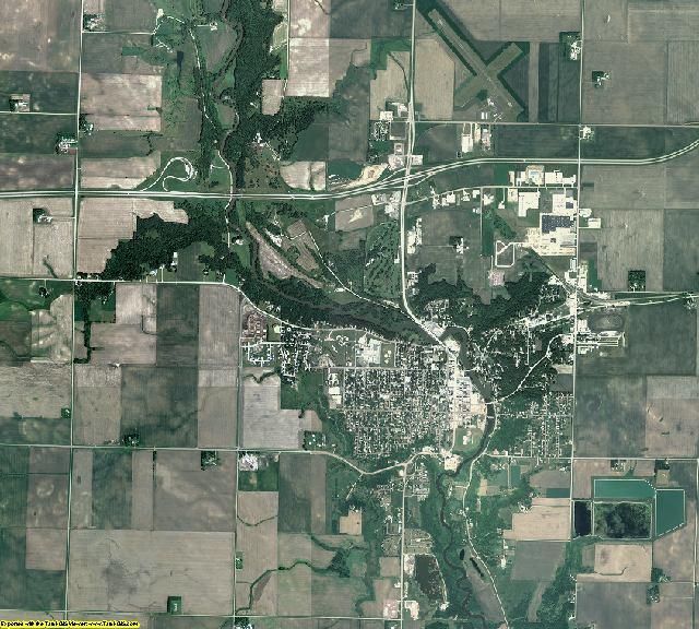 Jackson County, Minnesota aerial photography