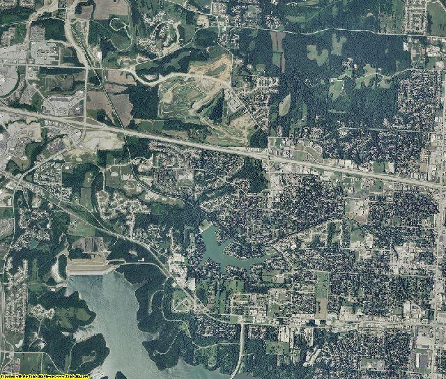 Jackson County, Missouri aerial photography