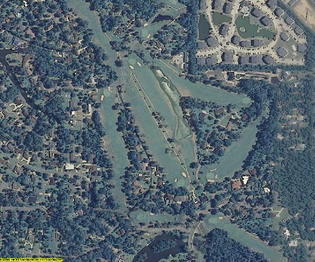 Jackson County, MS aerial photography detail