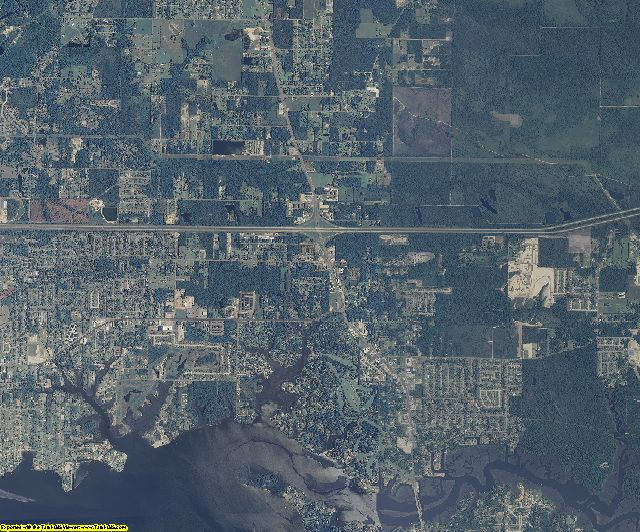Jackson County, Mississippi aerial photography