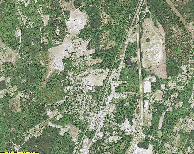 Jasper County, South Carolina aerial photography