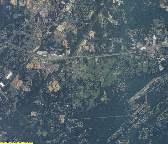 Jefferson County, Alabama aerial photography
