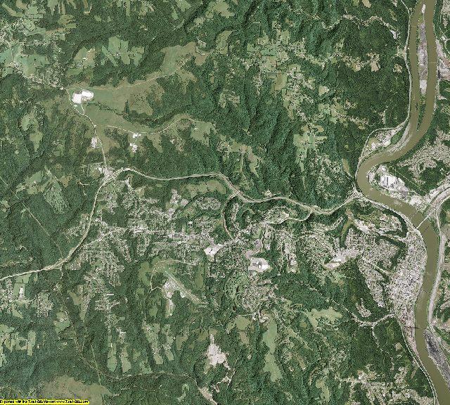 Jefferson County, Ohio aerial photography
