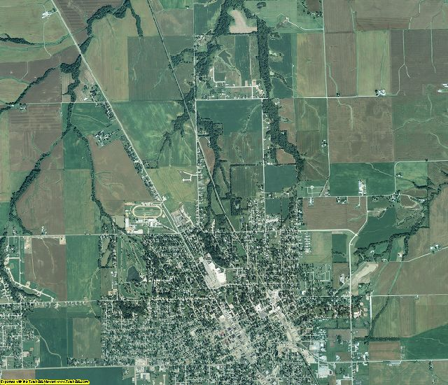 Jersey County, Illinois aerial photography