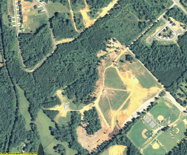 Jones County, GA aerial photography detail