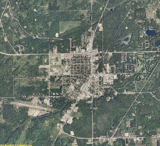 Kalkaska County, Michigan aerial photography