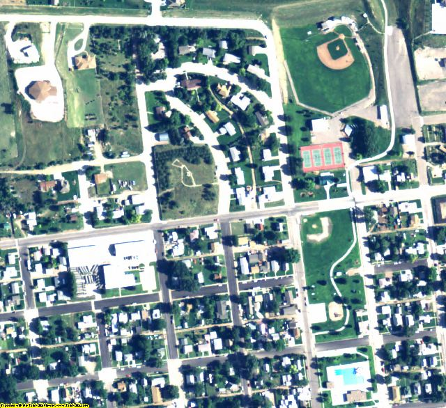 Keith County, NE aerial photography detail