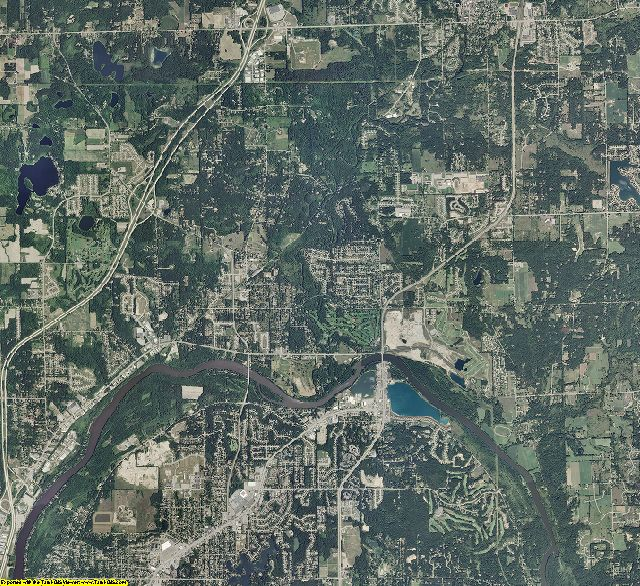 Kent County, Michigan aerial photography