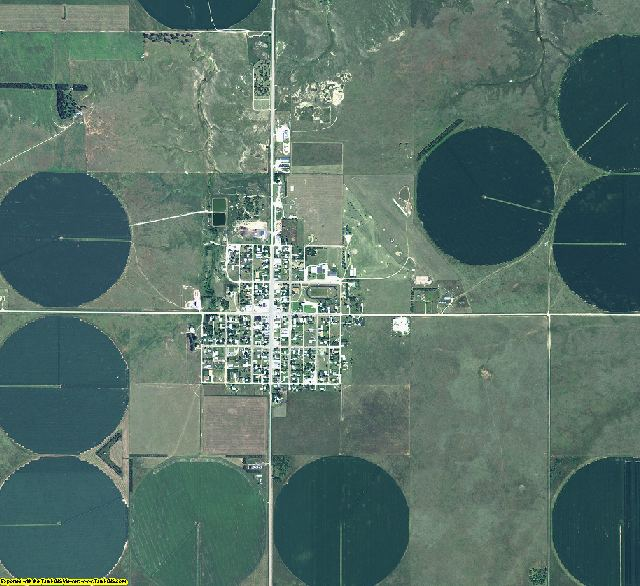 Keya Paha County, Nebraska aerial photography