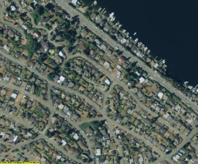 King County, WA aerial photography detail