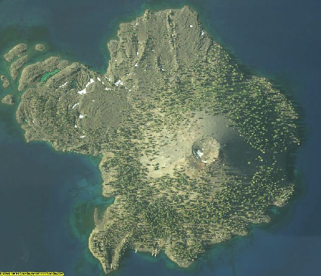 Klamath County, OR aerial photography detail