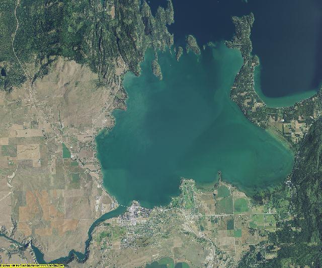 Lake County, Montana aerial photography