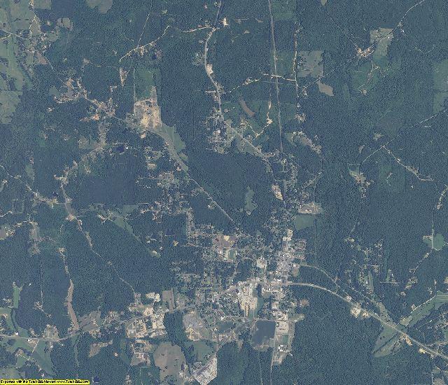Lamar County, Alabama aerial photography