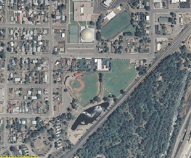 Las Animas County, CO aerial photography detail