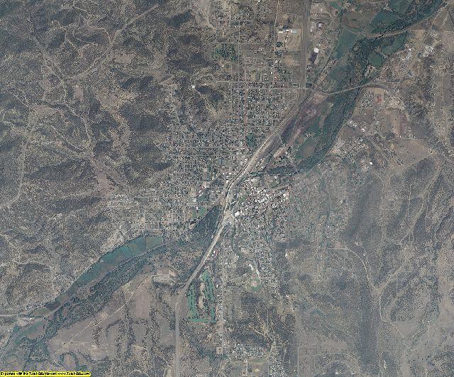 Las Animas County, Colorado aerial photography