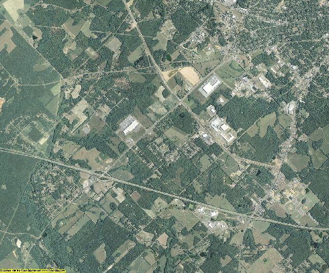 Laurens County, Georgia aerial photography