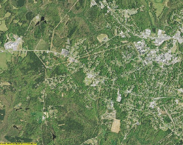 Laurens County, South Carolina aerial photography