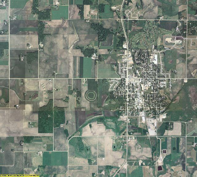 Le Sueur County, Minnesota aerial photography
