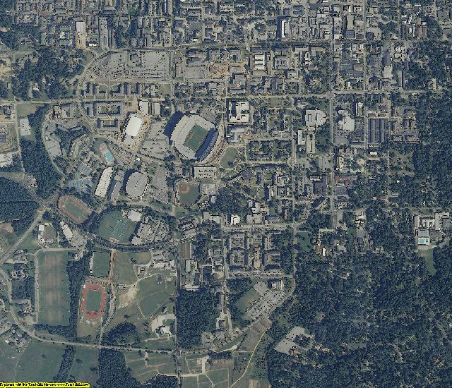Lee County, AL aerial photography detail