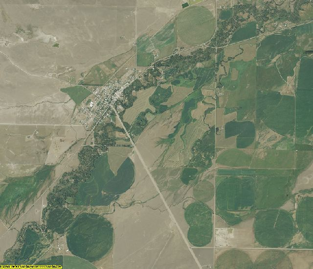 Lewis and Clark County, Montana aerial photography