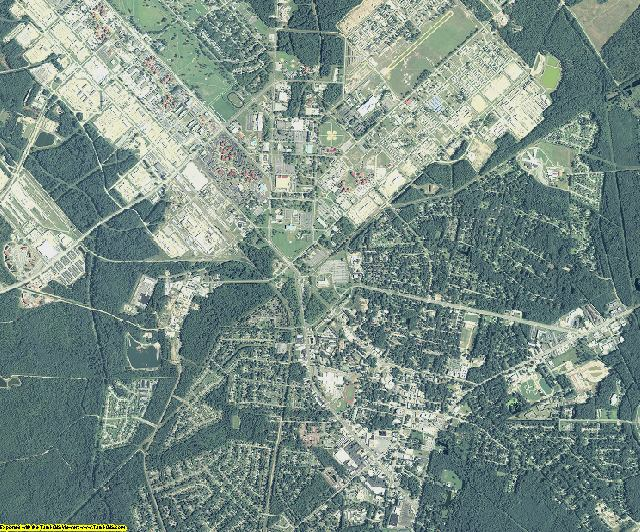 Liberty County, Georgia aerial photography