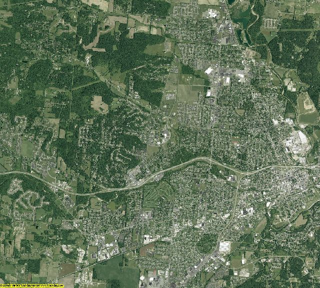 Licking County, Ohio aerial photography