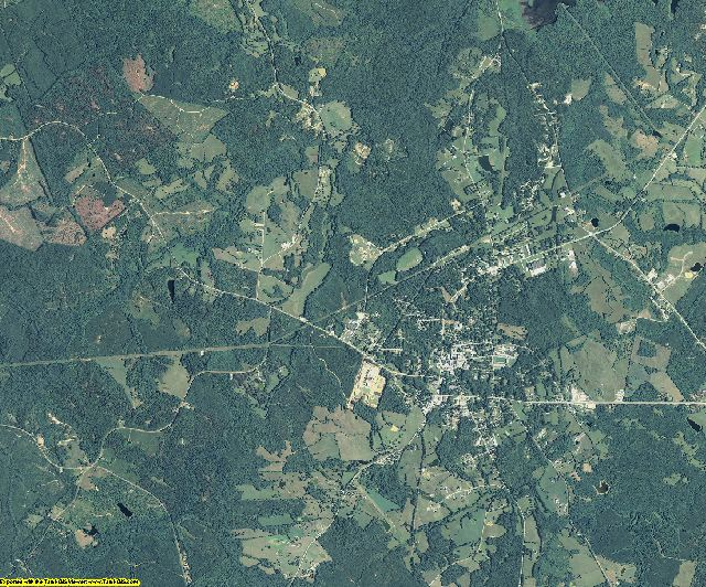 Lincoln County, Georgia aerial photography