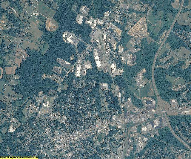 Lincoln County, North Carolina aerial photography