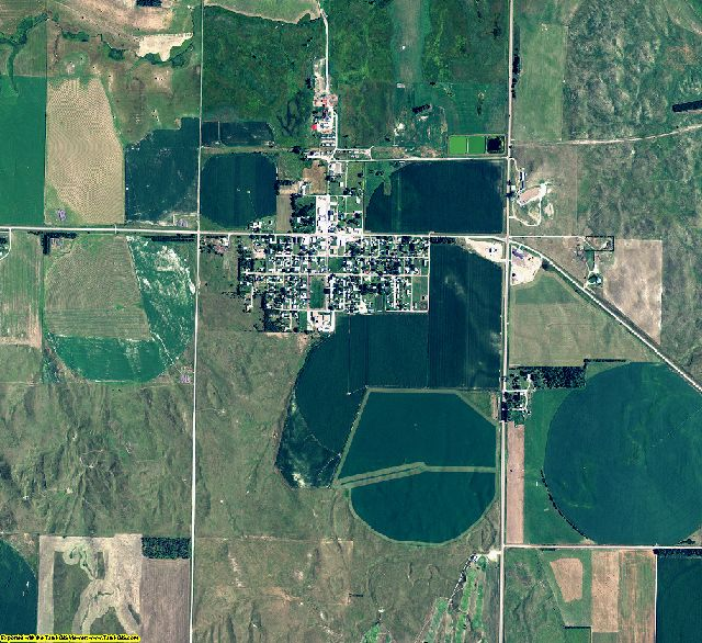 Logan County, Nebraska aerial photography