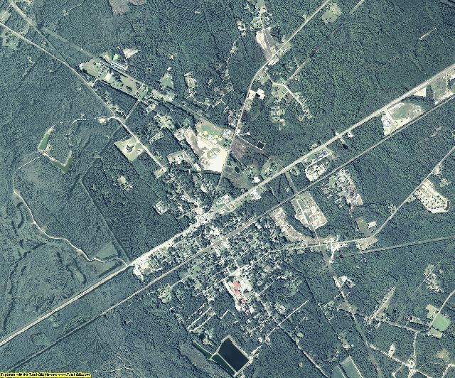 Long County, Georgia aerial photography