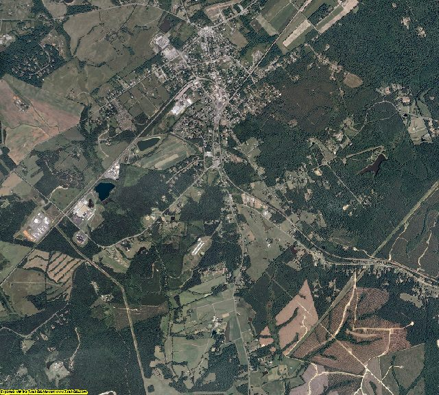 Louisa County, Virginia aerial photography