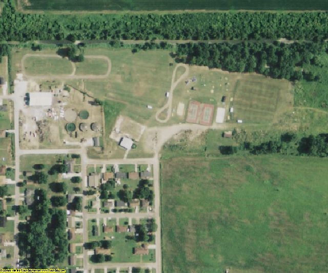 Madison County, LA aerial photography detail