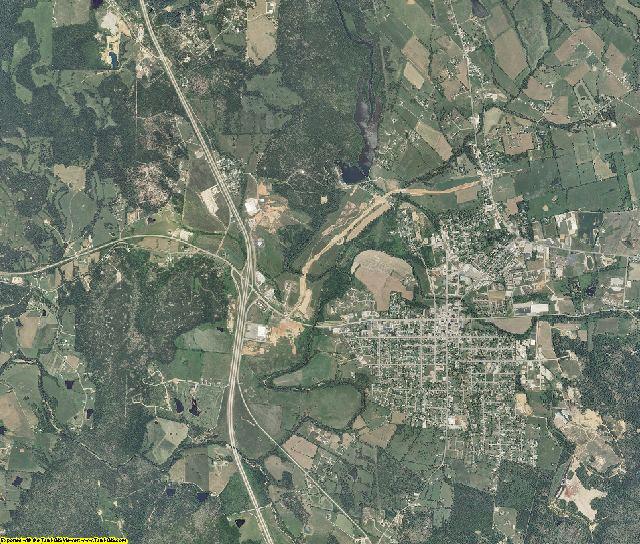 Madison County, Missouri aerial photography