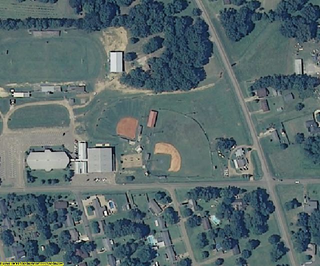 Madison County, MS aerial photography detail