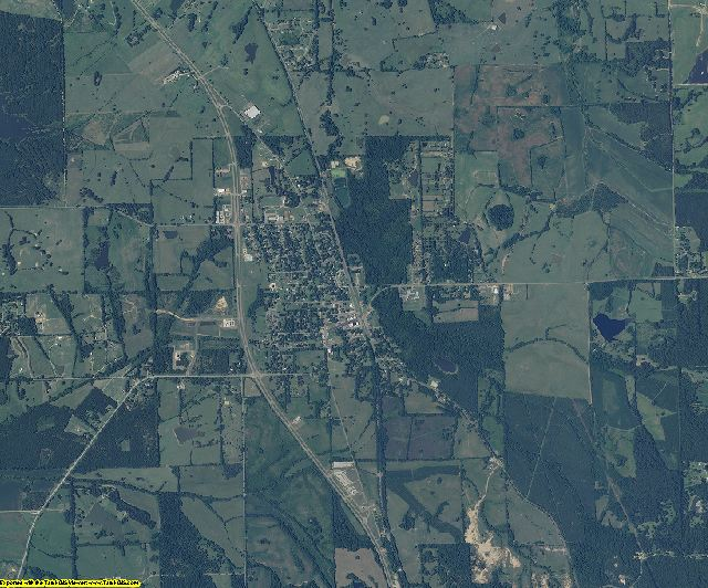 Madison County, Mississippi aerial photography
