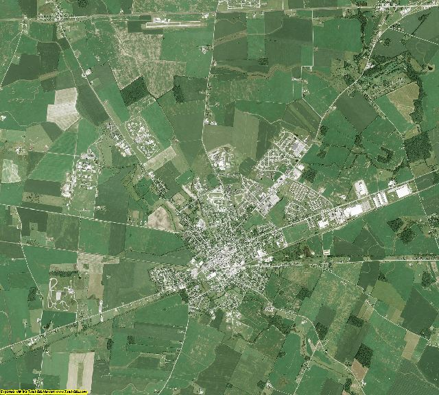 Madison County, Ohio aerial photography