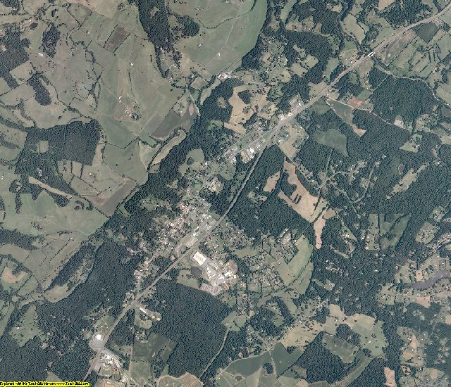 Madison County, Virginia aerial photography