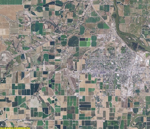 Malheur County, Oregon aerial photography
