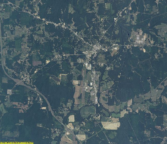Marion County, Alabama aerial photography